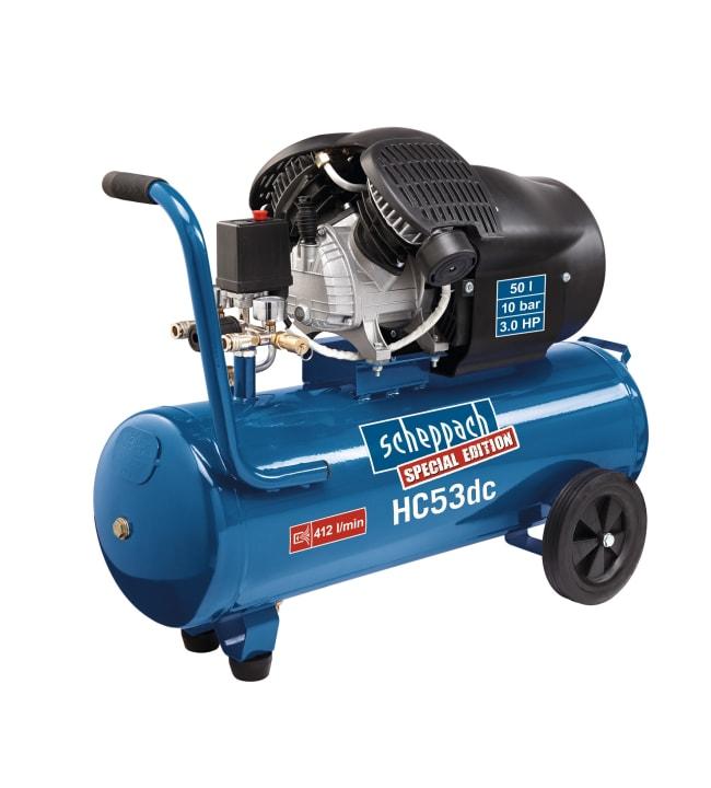Scheppach HC53dc 50l 3Hp kompressori