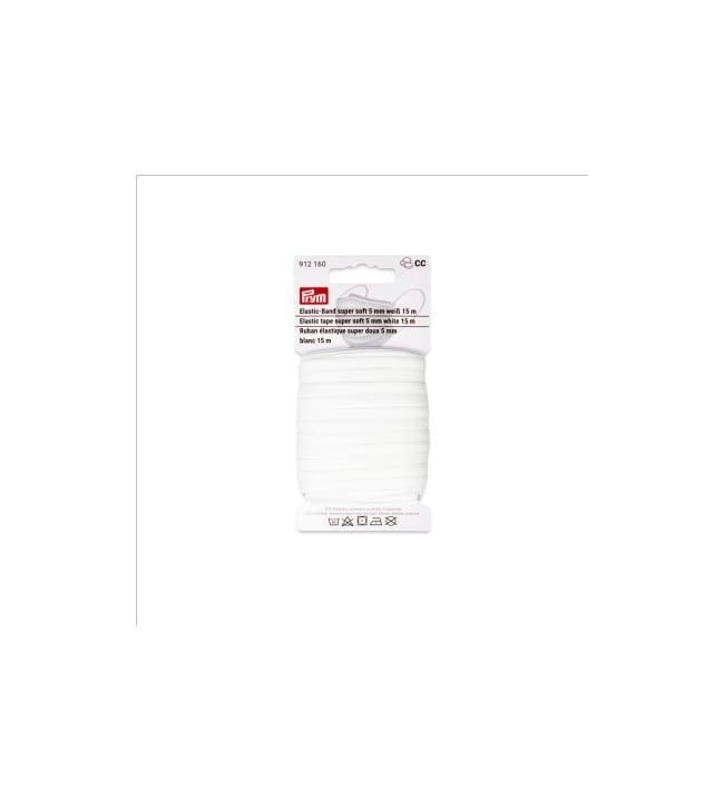 Prym 5 mm pehmeä kuminauha