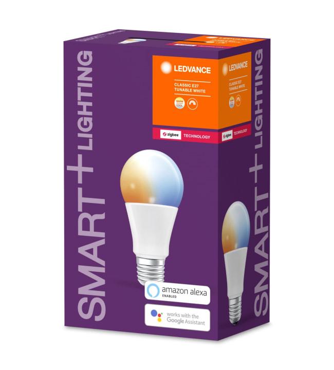 Ledvance Smart+ Classic E27 Tunable White led-älylamppu, Zigbee yhteensopiva