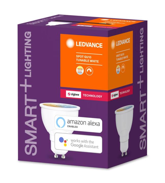 Ledvance Smart+ Spot GU10 Tunable White led-älylamppu, Zigbee yhteensopiva