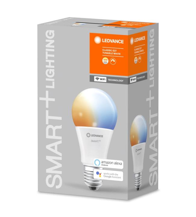 Ledvance Smart+ WiFi Classic E27 9,5W Tunable White led-älylamppu