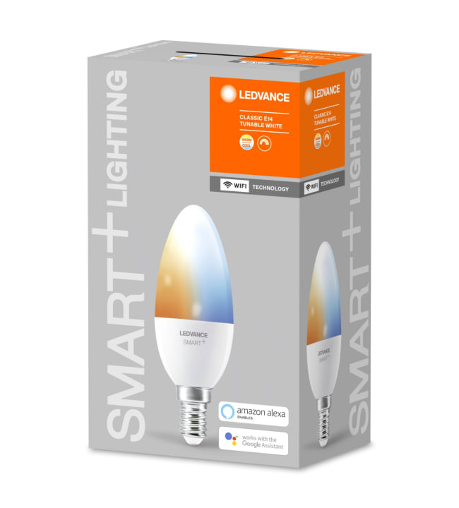 Ledvance Smart+ WiFi Classic E14 5W Tunable White led-älylamppu