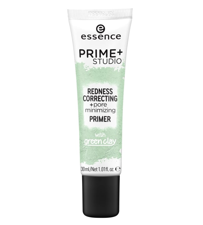 Essence Prime+ Studio Redness Correcting 30 ml pohjustusvoide