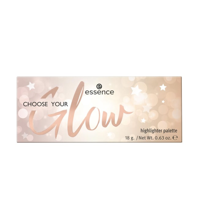 Essence Choose Your Glow Highlighter 18 g korostuspaletti