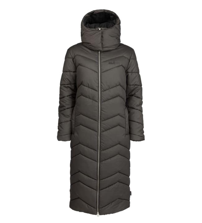 Jack Wolfskin Kyoto Long Coat naisten talvitakki