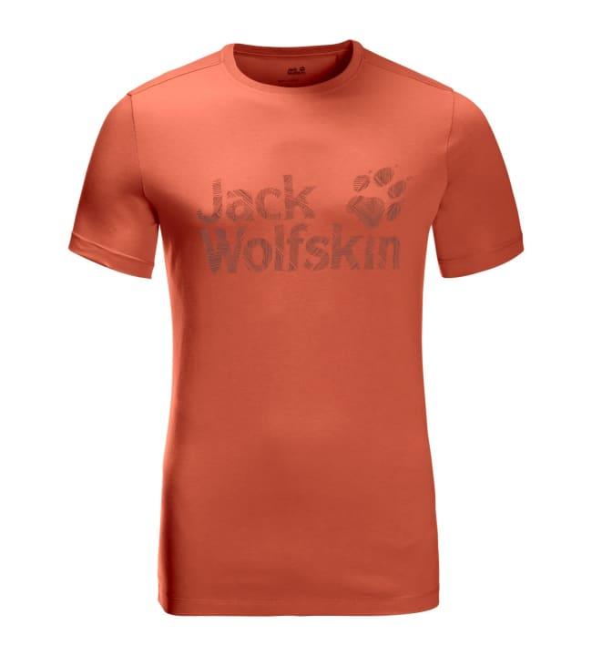 Jack Wolfskin Brand Logo miesten t-paita