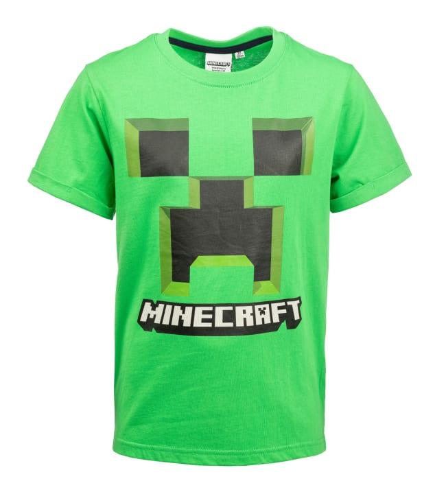 Minecraft lasten t-paita