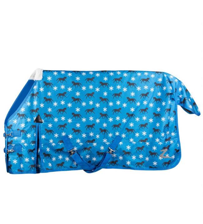 Horze Tucker Pony 600D 200 g sininen ponikokoinen ulkoloimi