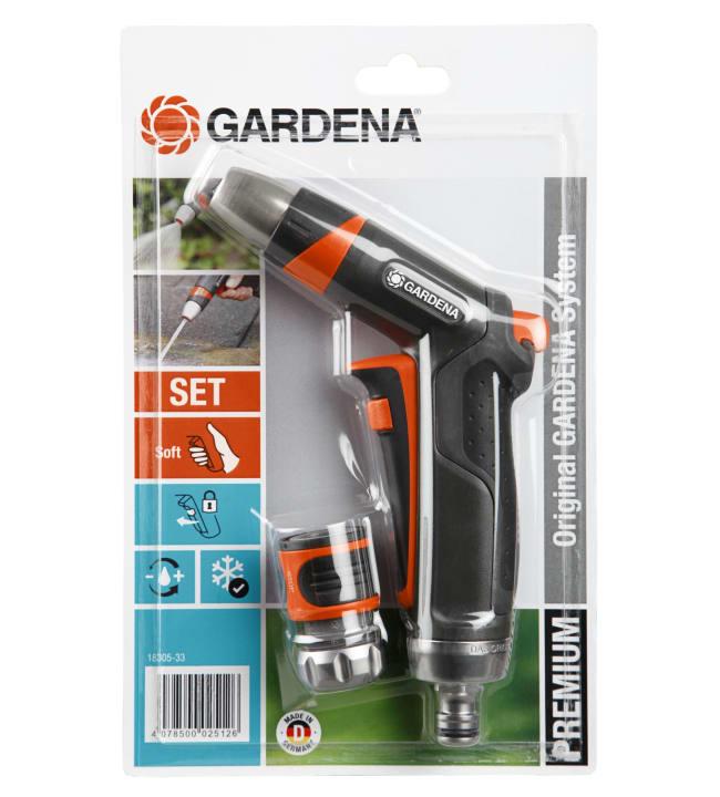 Gardena  Premium liittimellä ruiskupistooli