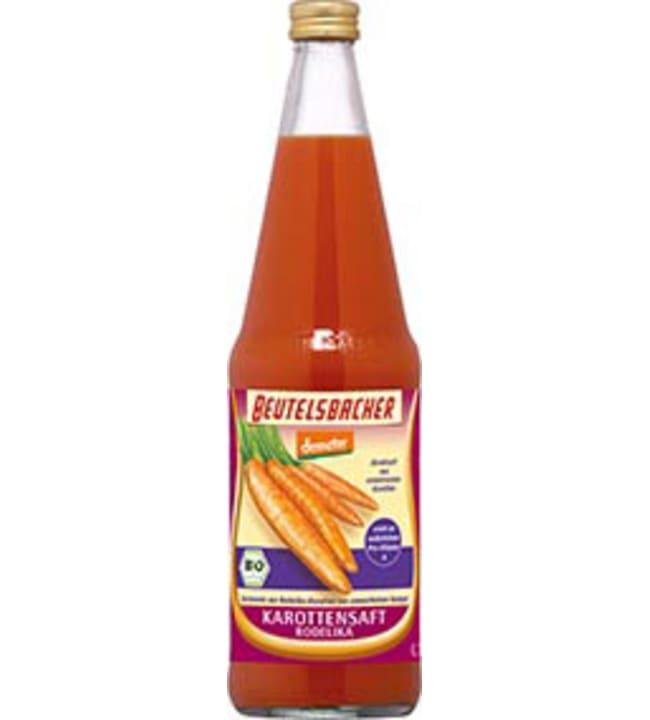 Beutelsbacher 0,75 l Demeter rodelika porkkanamehu