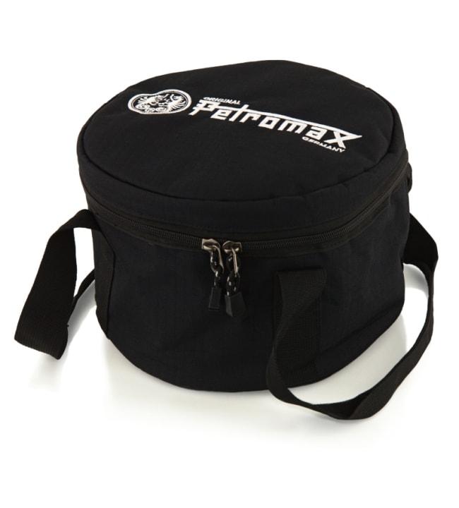 Petromax Transport Bag valurautapadan kassi ft12:sta ja Atagolle