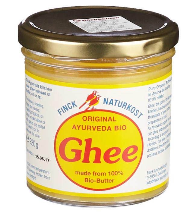 "Original Ghee 220 g voiöljy ""kirkastettu voi"""