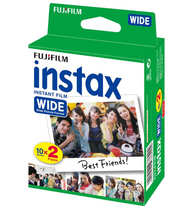 Fujifilm Instax Wide 10x2 filmi