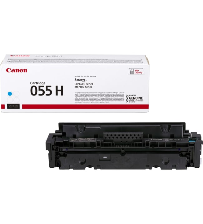 Canon 055 H syaani värikasetti