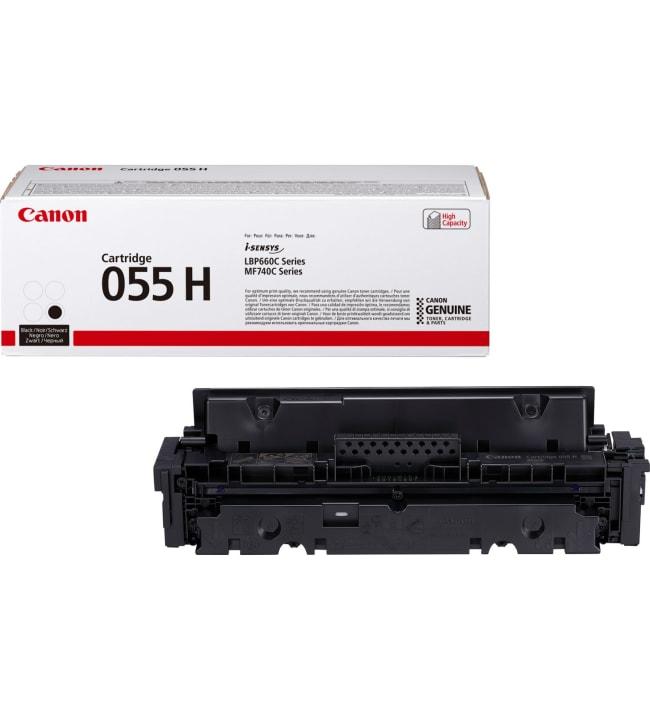 Canon 055 H musta värikasetti