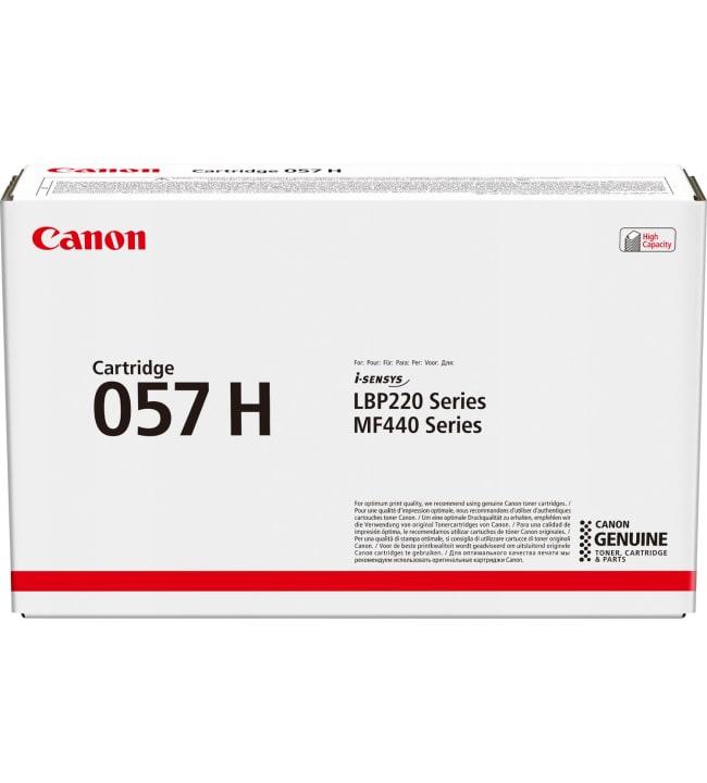 Canon 057 H black värikasetti