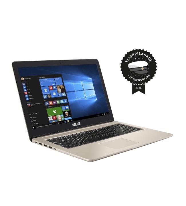 """Asus VivoBook Pro N580VD-FZ338T 15.6"""" kannettava tietokone"""