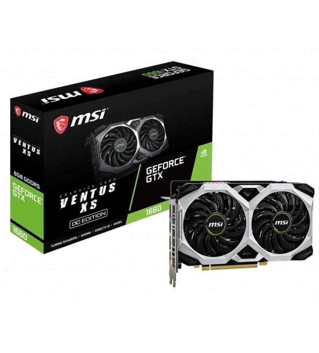 MSI GeForce GTX 1660 Ventus XS 6G OC 6GB näytönohjain