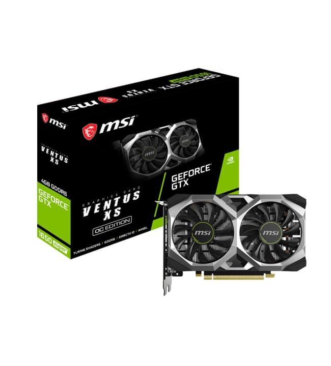 MSI GeForce GTX 1650 Super Ventus XS OC 4GB näytönohjain