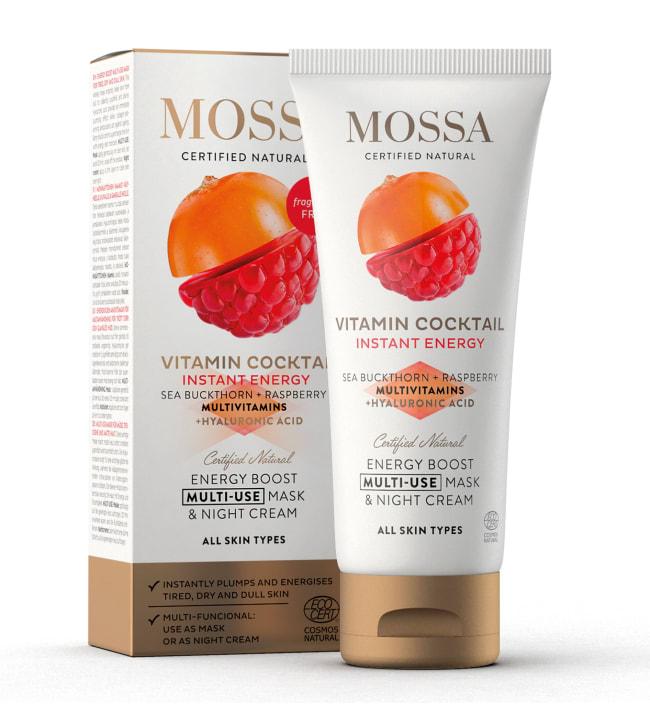 Mossa Vitamin Cocktail energisoiva 60 ml naamio/yövoide
