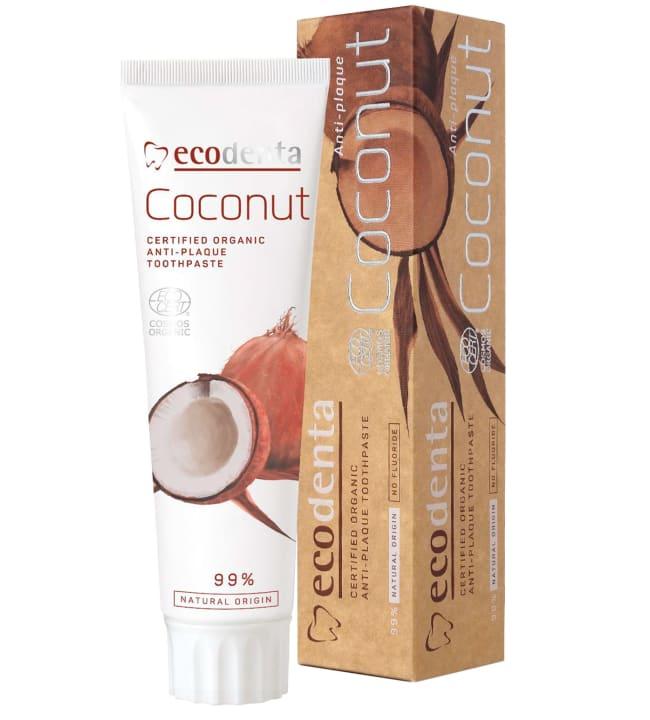 Ecodenta Coconut Anti-Plaque 75 ml hammastahna