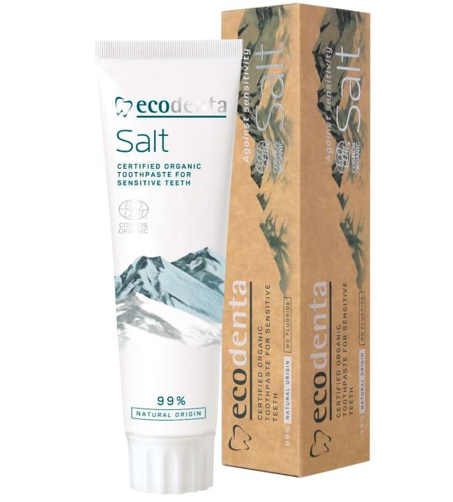 Ecodenta Salt For Sensitive Teeth 75 ml suolahammastahna