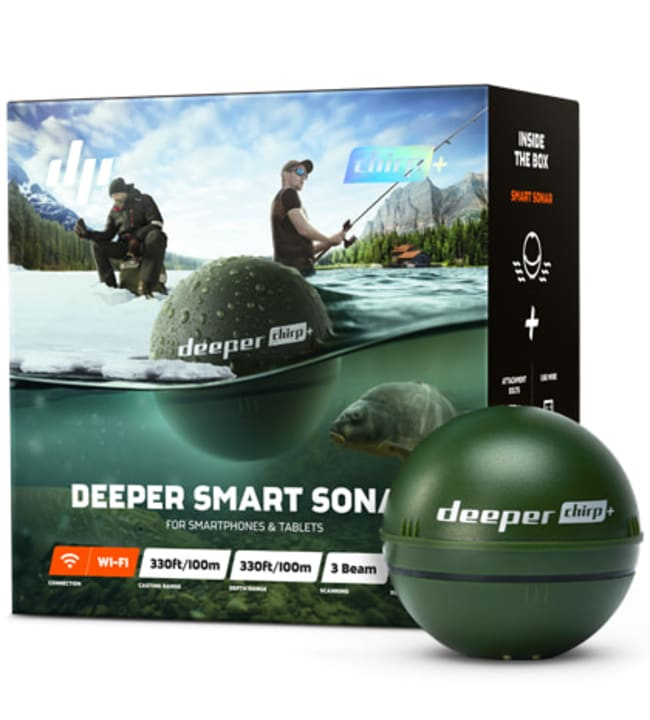 Deeper Smart Sonar Chirp+ kaikuluotain