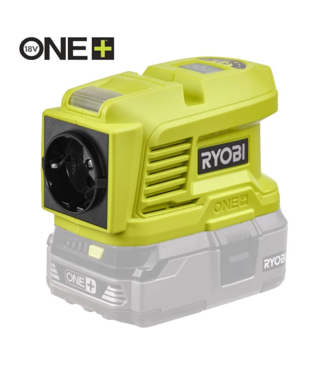 Ryobi One+ RY18BI150A-0 18V 150W invertteri runko
