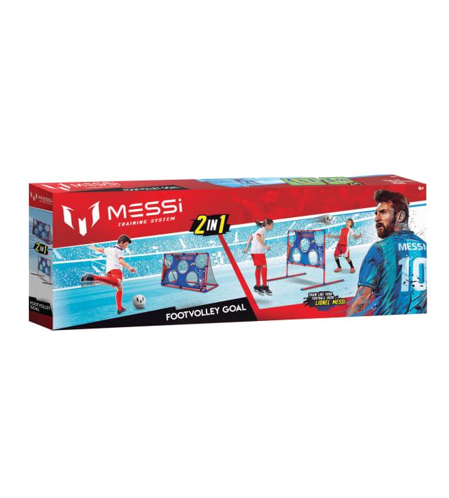 Messi 2-in-1 Footvolley & Target Goal harjoittelusetti