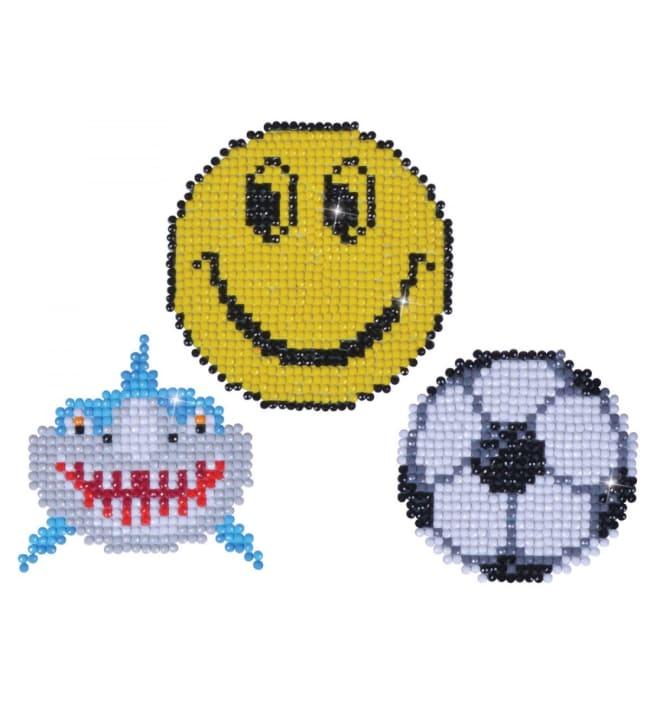 Diamond Dotz Smile magneetit timanttiaskartelutyö