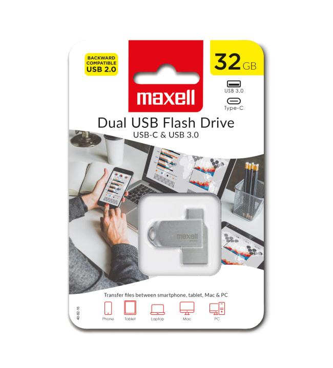 Maxell USB 3.0 OTG 32GB USB-C muistitikku