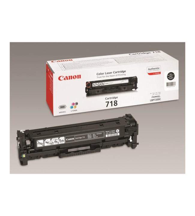 Canon 718 musta 2 pakettia musta värikasetti