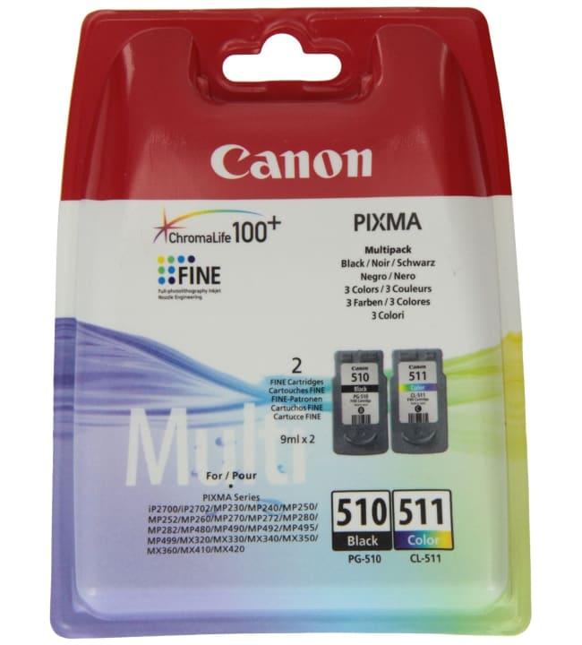 Canon PG-510 / CL-511 SEC multipack mustepatruuna