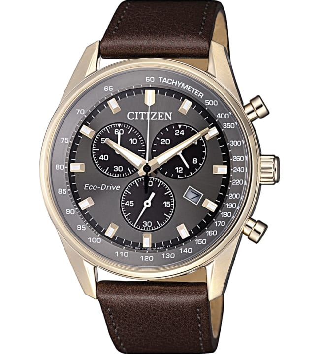 Citizen Eco-Drive AT2393-17H miesten rannekello