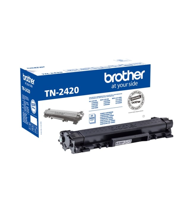 Brother TN-2420 musta värikasetti