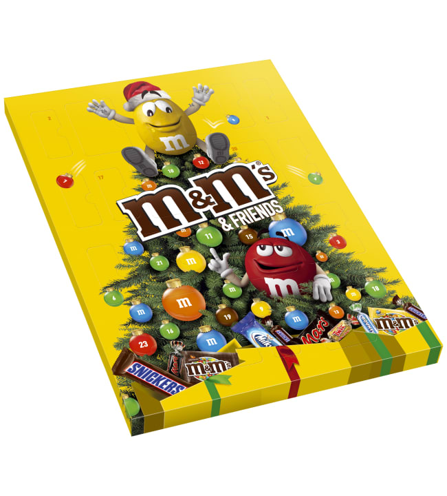 M&M Joulukalenteri