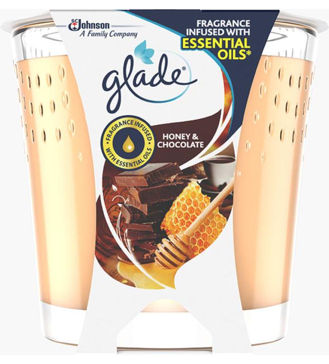 Glade Honey & Chocolate 129 g kynttilä