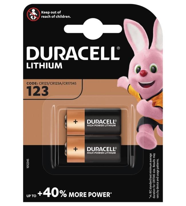 Duracell Ultra Photo 123 2kpl litiumparisto