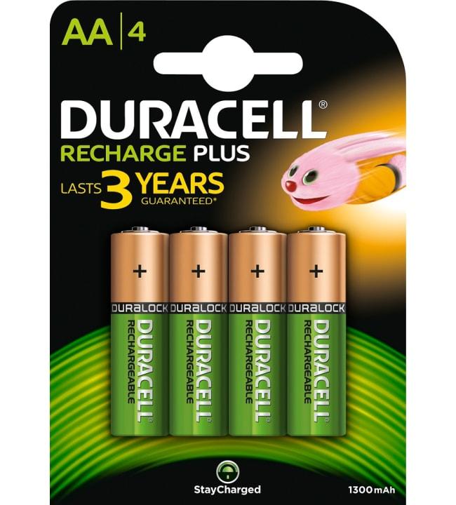 Duracell Recharge Ultra AA 4kpl 1300mAh akkuparisto