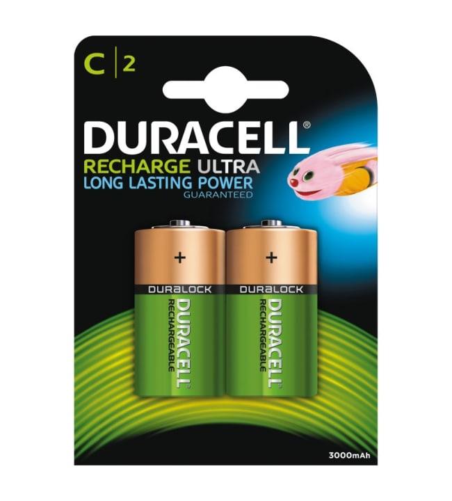 Duracell Recharge Ultra C 2kpl 3000mAh akkuparisto
