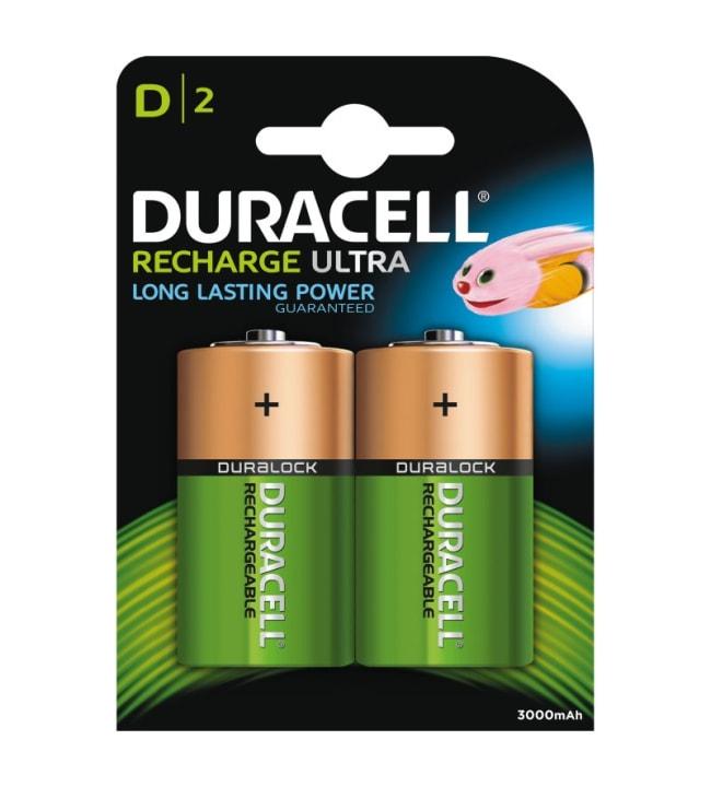 Duracell Ultra Recharge D 2kpl 3000mAh akkuparisto