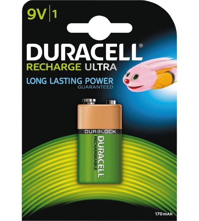 Duracell Recharge Ultra 9V 170mAh akkuparisto