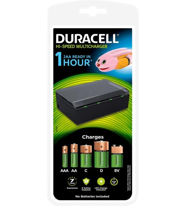 Duracell Hi-Speed Multicharger yleislaturi paristoille