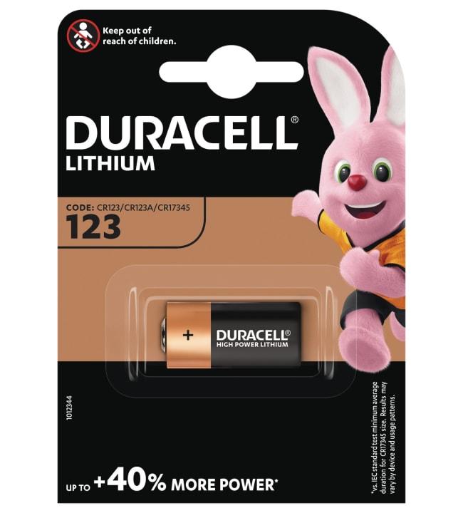 Duracell Ultra Lithium 123 litiumparisto