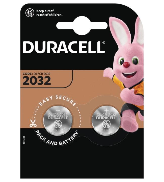 Duracell CR2032 2kpl litiumnappiparisto