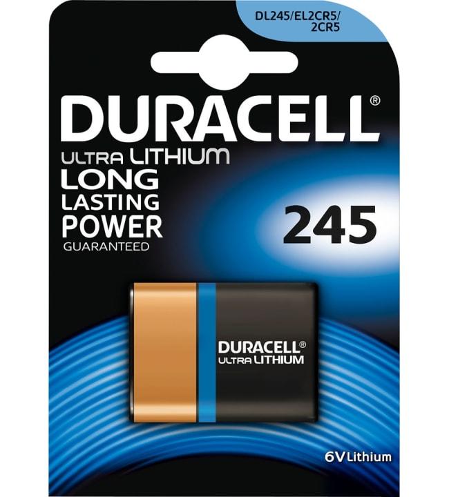 Duracell Ultra Lithium 245 litiumparisto