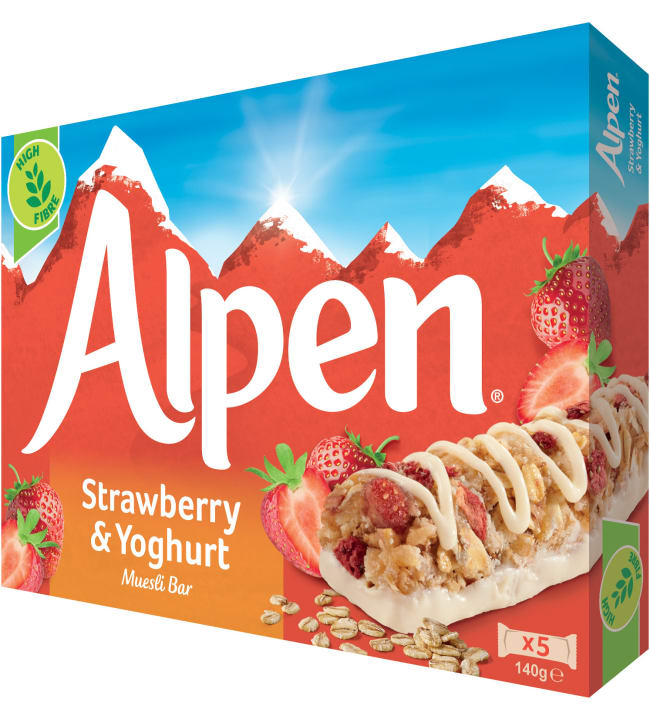 Alpen Fruit & Nut with Chocolate 5x29 g myslipatukka