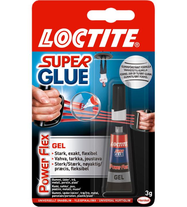 Loctite Super Glue Power Flex 3 g pikaliima