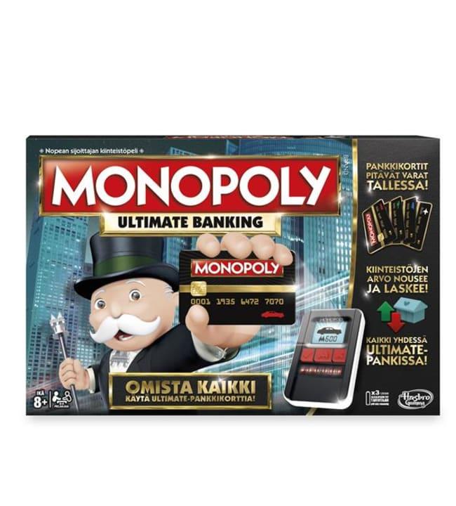 Hasbro Monopoly Ultimate Banking lautapeli