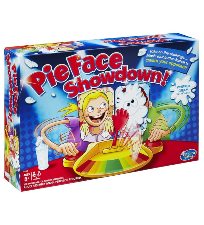 Pie Face Showdown peli